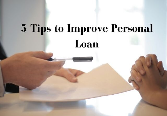 improve personal loan eligibility